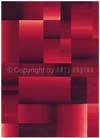 Tapis Digiworld Arte Espina rouge