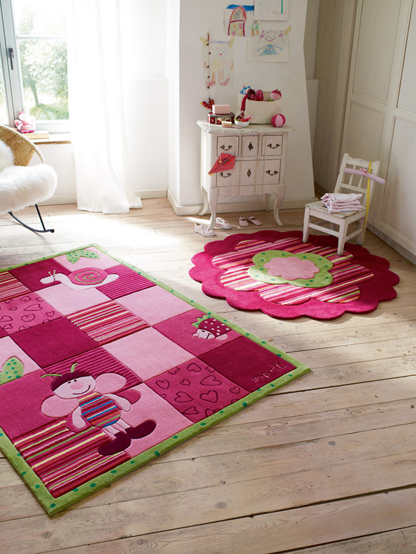 Inspiration déco chambre d\'enfants - Bien choisir son tapis