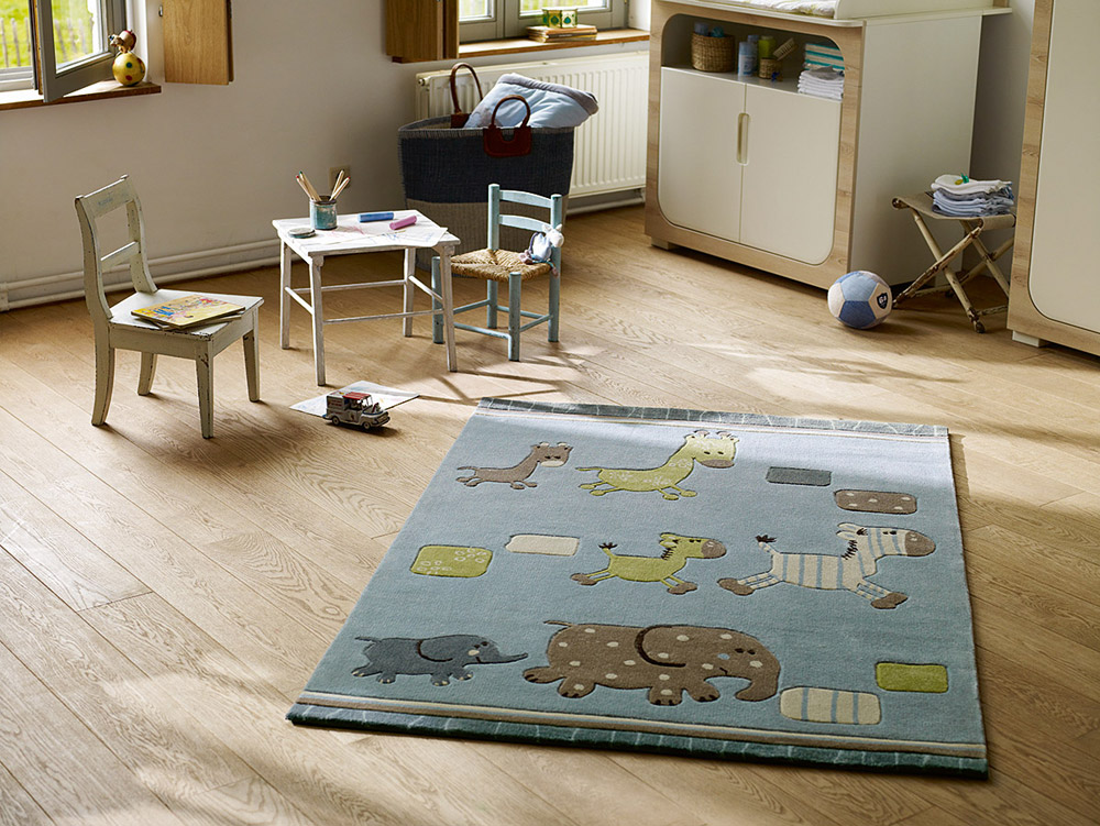 Tapis enfant Lucky Zoo